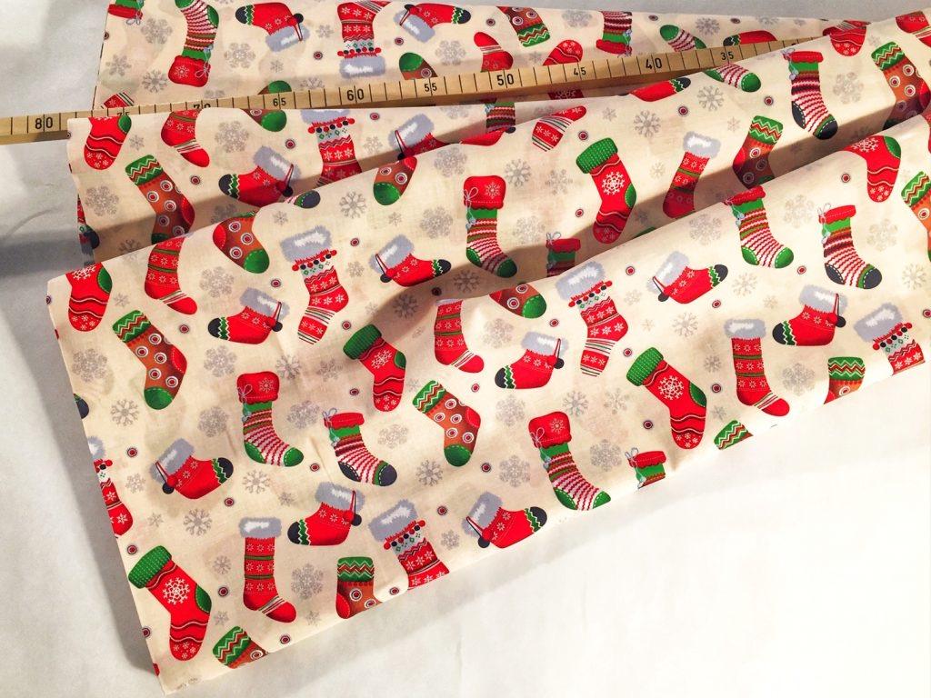 Stoff für die Weihnachtszeit